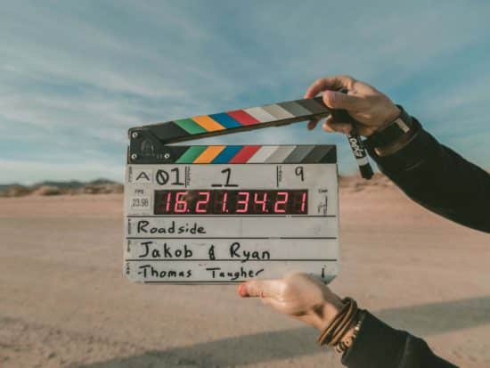 Being part of a film crew will pay you to travel